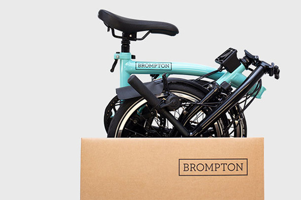 Brompton Bicycle deliveries